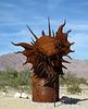 Ricardo Breceda's Dragon sculpture in Galleta Meadows Estate (4503)