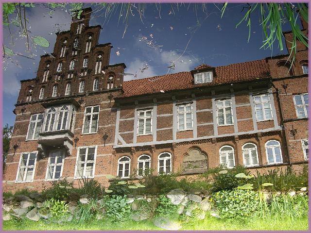 Das Wasserschloss in Hamburg Bergedorf