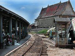 Railway station for Mae Khlong