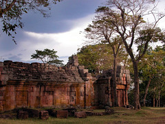 Ruins on Phanom Rung at the Angkor Highway