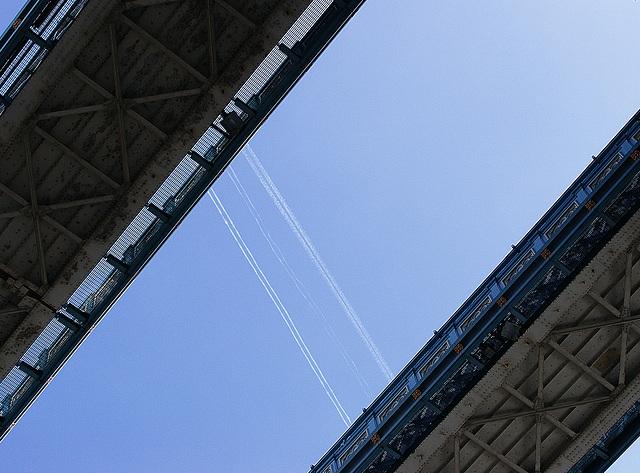 Aerial traverses