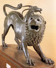 La chimère d'Arezzo, Italie