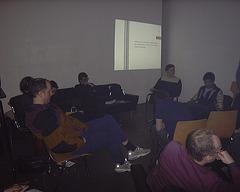 Auftaktveranstaltung von Nitribitt bei Oskar von Millerstr. 16, April 2002