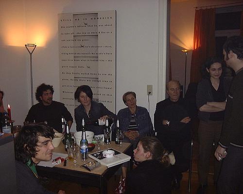 Sophistik Salon. Privater Gesprächskreis in Frankfurt