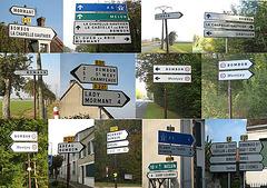 Comment se rendre à Bombon ? Suivez les panneaux !