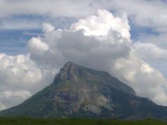 Nubes sobre el monte San Donato(NAVARRA)