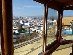 Las Palmas, desde el hotel Reina Isabel en las Canteras