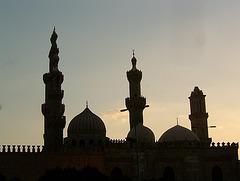 Azharr crépuscule Egypte