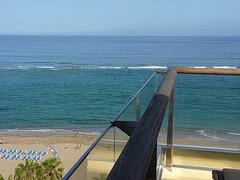 Tierra y playa en Gran Canaria