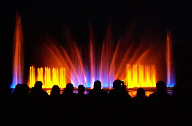 Wasserlichtorgel 1