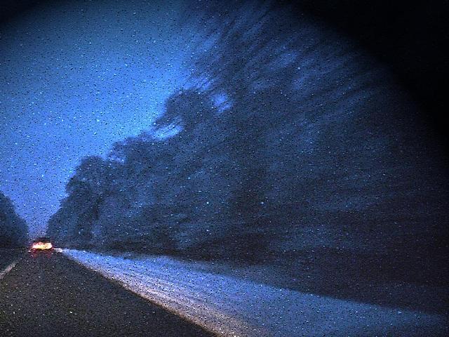 roule sous la neige