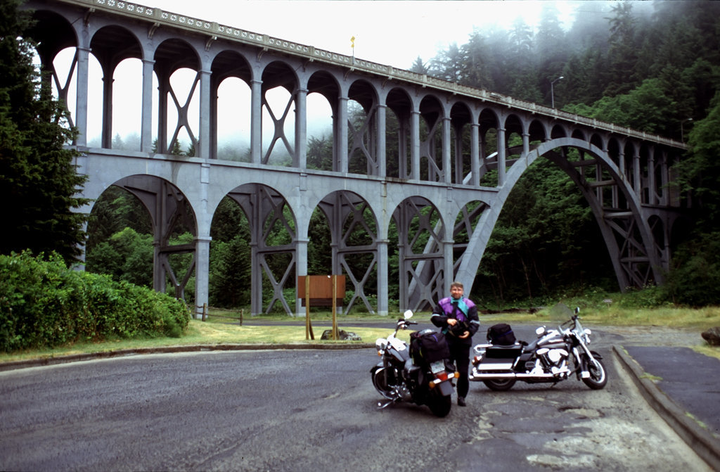 The Cape Creek Bridge