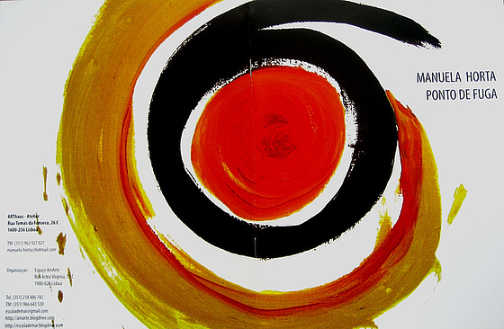 """Escape's Point"", Painting Exhibition by Manuela Horta, 2006, catalogue (1)"