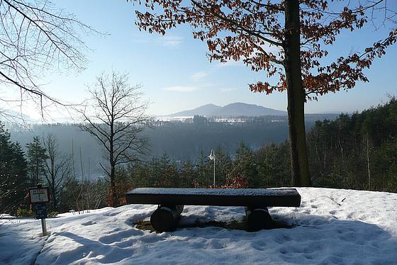 Winterstimmung in der Sächsischen Schweiz