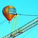 Heissluftballon mit Kran