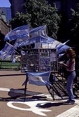 Light Blue Flags
