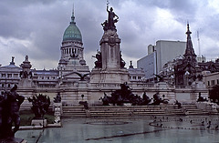 A Grey Day in Buenos Aires