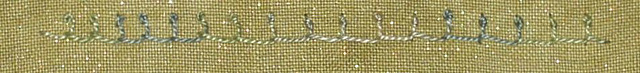 #64 - Top-Knotted Buttonhole Stitch