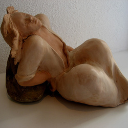 Lying Beneath the Sun (sculpture)