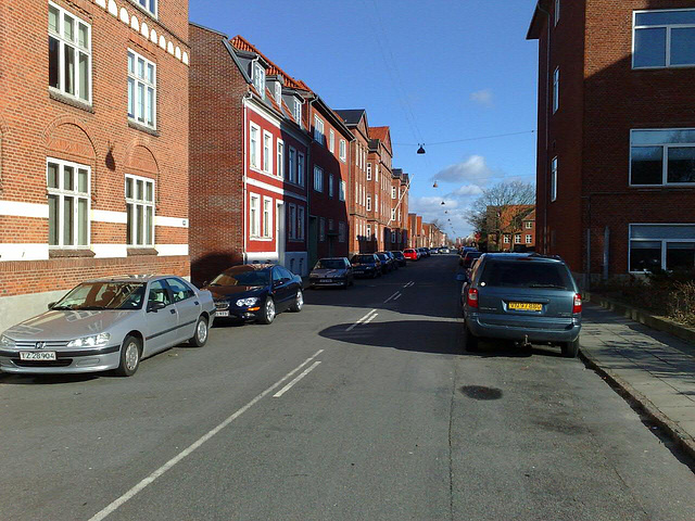 Nice sunny morning in Esbjerg