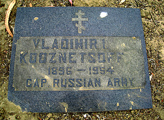 Greenlawn Cemetery - Nonendowment Care Section - Vladimir I Kooznetsoff (1250)