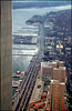 hudson river from WTC