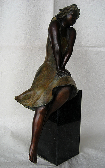 Seated Lady (sculpture)