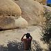 Pat At Jumbo Rocks (4604)
