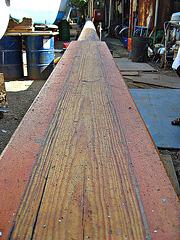 Recumbent mast