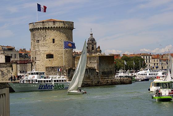 La Rochelle - la tour de la Chaine