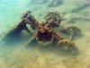 Scrap underwater V
