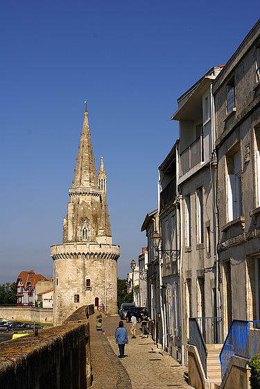 La Rochelle - la tour de la Lanterne
