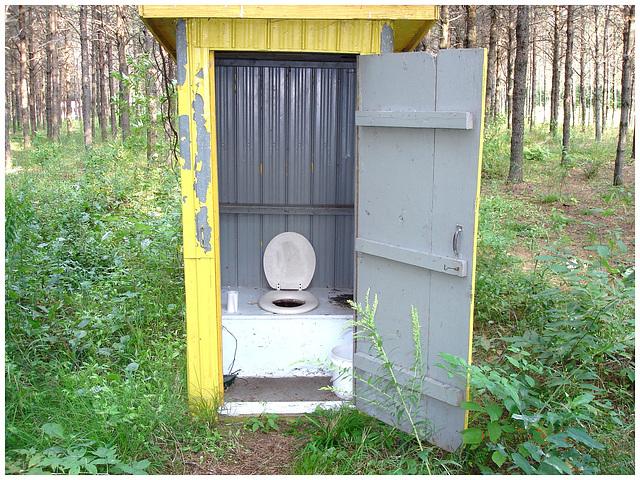 La bécosse du Solitaire / Loner's shit hole small chalet