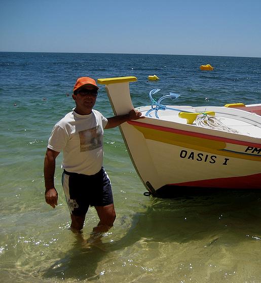 Algarve, Praia Marinha, Cap. Fernando Cabrita