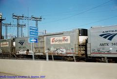 Amtrak #74035, Harrisburg, PA, USA, 2007