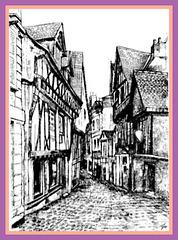 Le Vieux Laval, en Mayenne