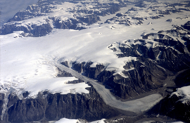 Birthplace of a glacier....