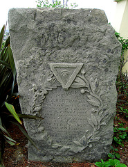 Colma Historical Museum - Mystery Tombstone (1296)