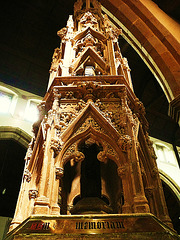 st. nicholas church, brighton, sussex, 1853 wellington memorial by carpenter and birnie philip