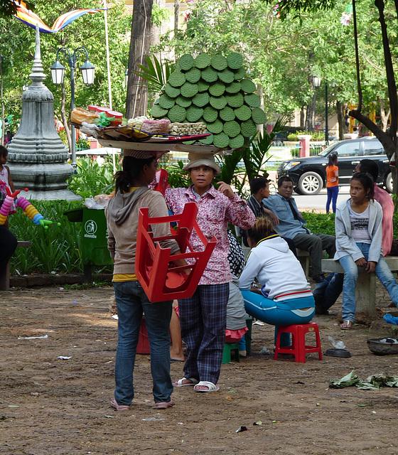 Khmer New Year Celebrations- Well-balanced