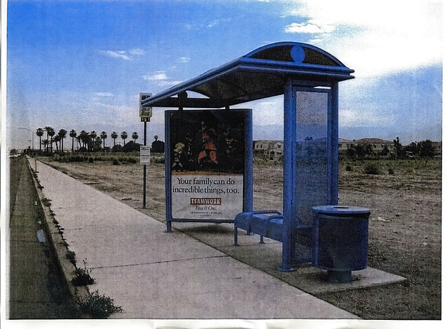 New Bus Shelter