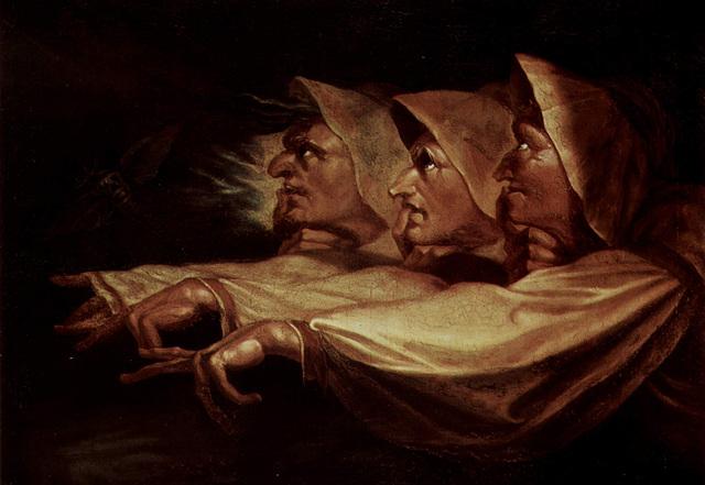 Les Trois Sorcières, œuvre de Johann Heinrich Füssli