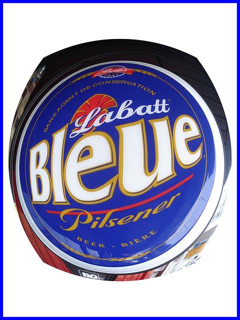 Labatt Bleue Pilsener - Hometown blue hops - Sphérisation & Lentille -