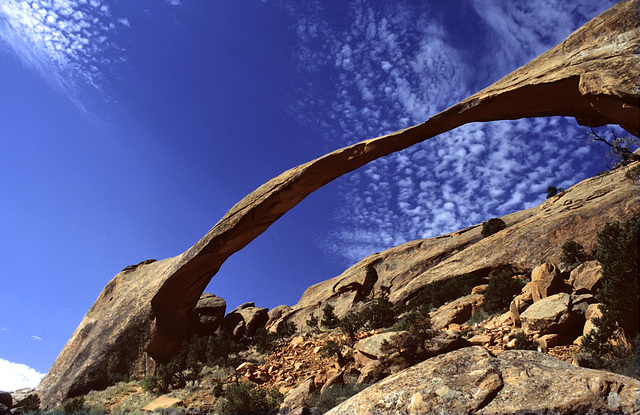 Landscape Arch in the sun