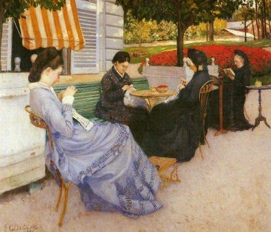 Portraits à la campagne, œuvre de Gustave Caillebotte