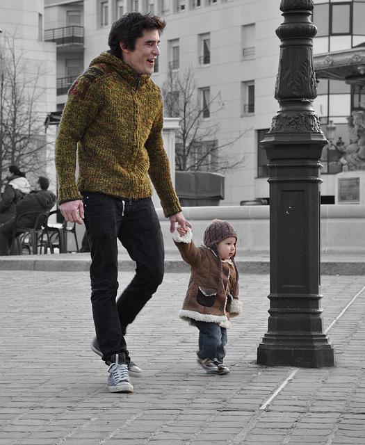 le père et sa fille