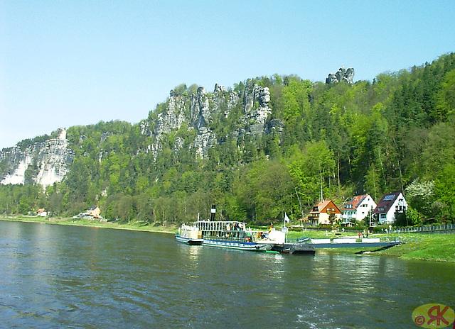 2008-04-27 036 Eo ŝipveturado de Pirna al Hrensko kaj reen