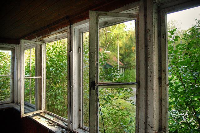 zerbrochenes fenster / broken window