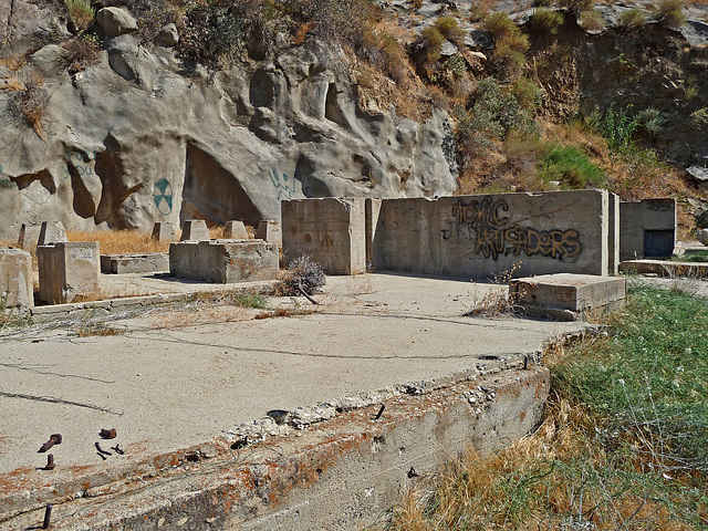 Colorado River Aqueduct at Mt San Jacinto (0398)
