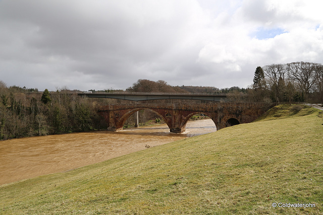 Bridge over the Tweed near Melrose
